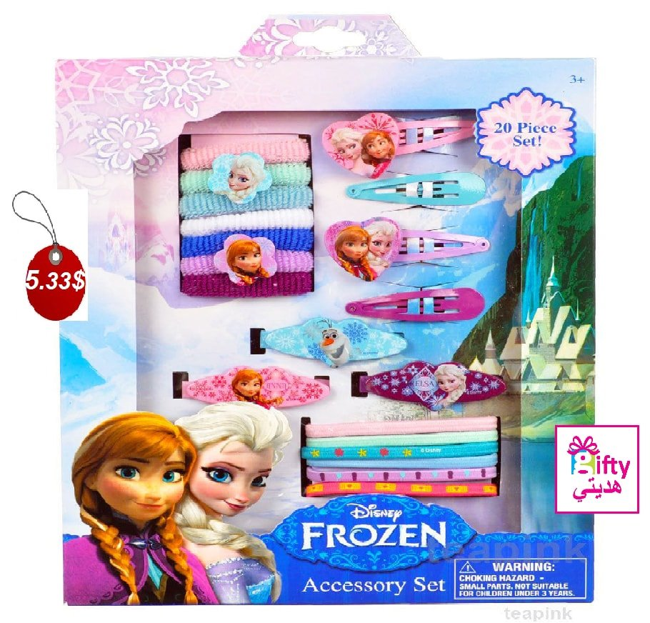 Disney Frozen ANNA ELSA Hair Accessory Set 20 Piece Children Girls Gift Pack