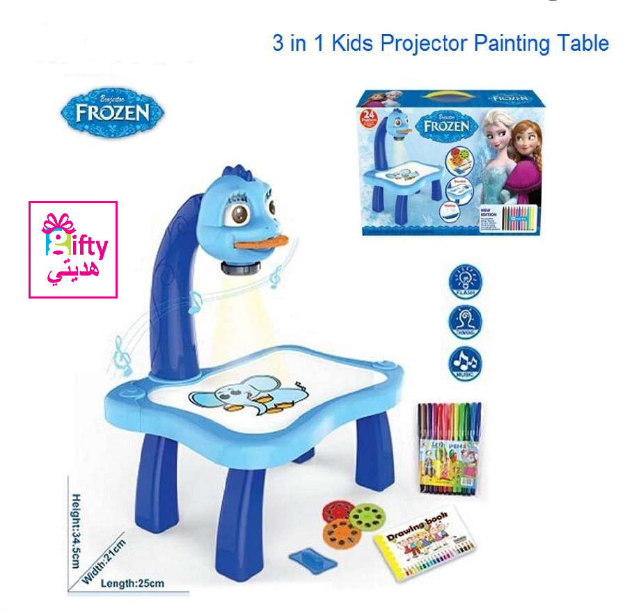 FROZEN PROJECTOR PAINTING LEARNING TABLE