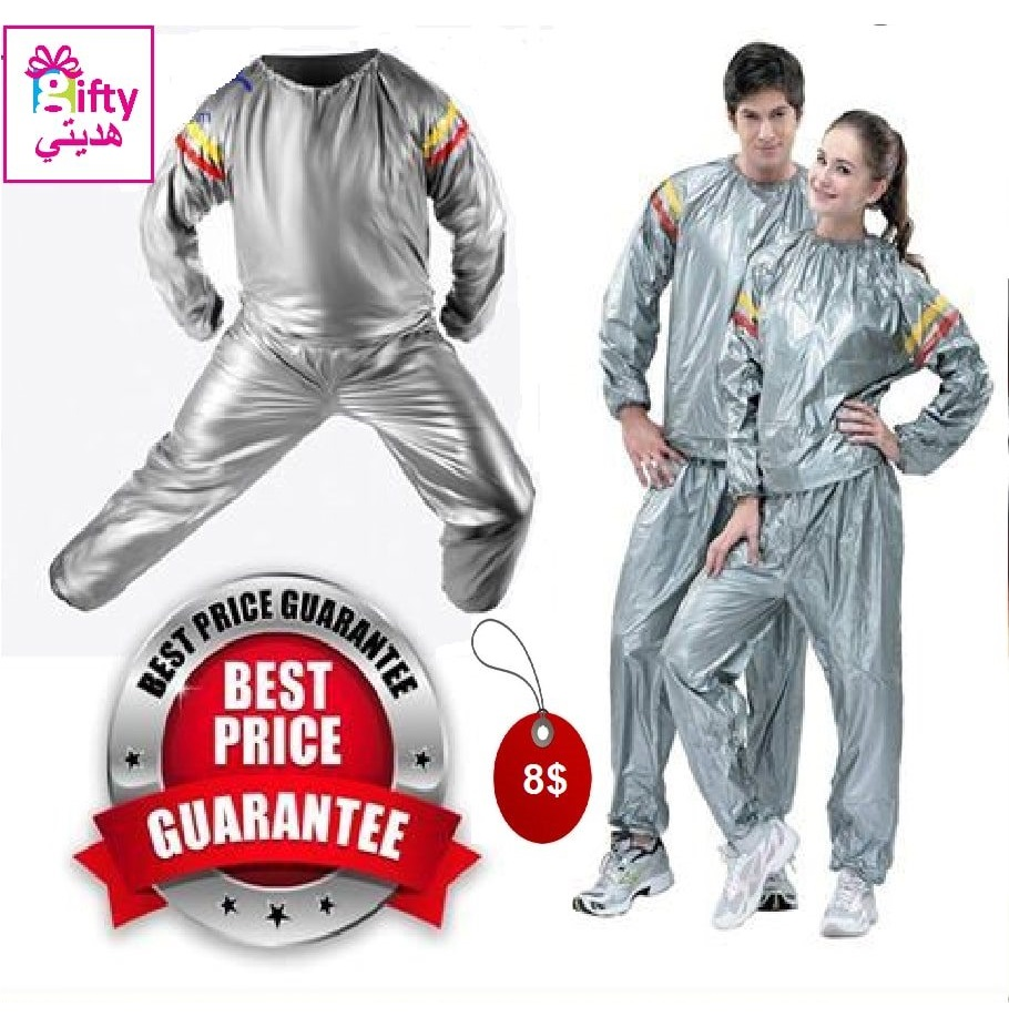 SUNNY HEALTH & FITNESS SAUNA SUIT  ( GOOD-BYE FOR YOUR FAT )