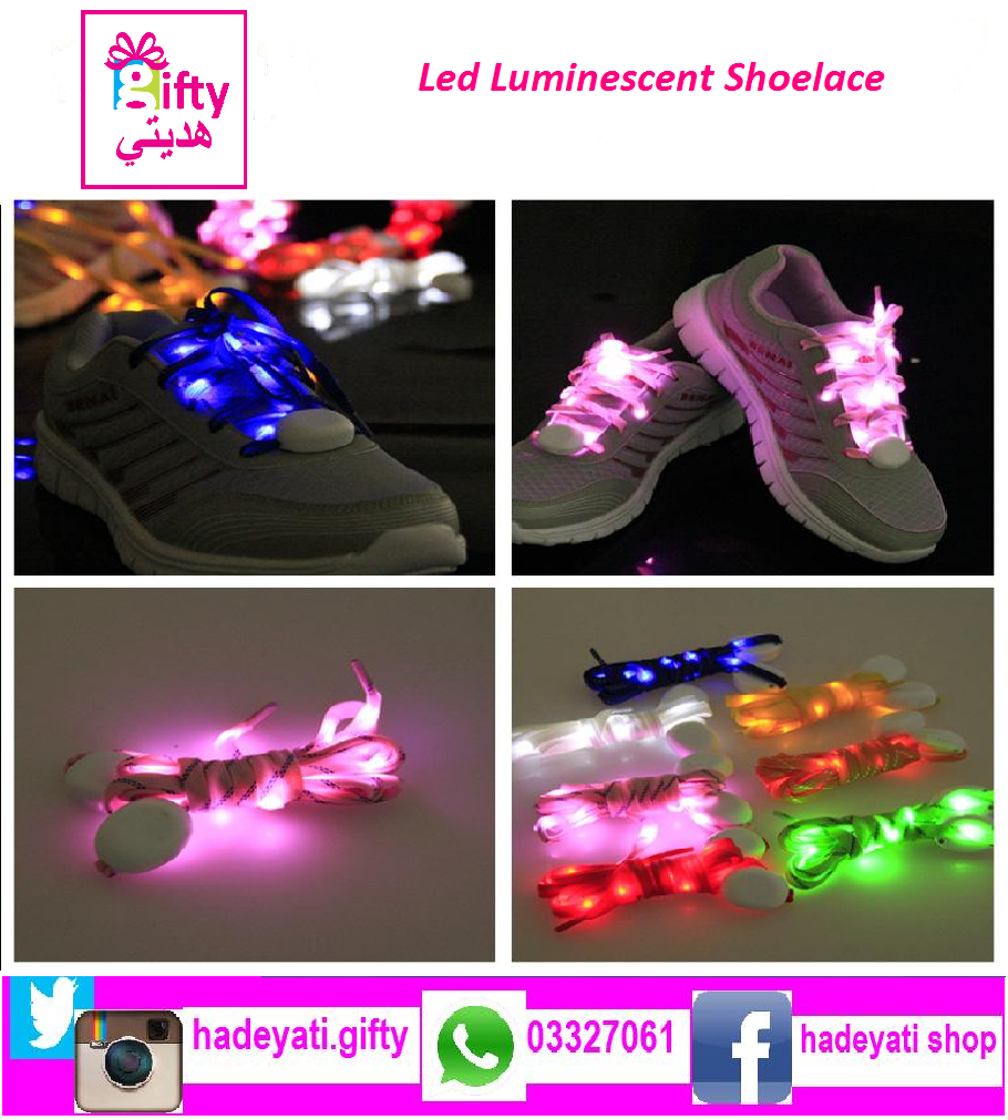 Led Luminescent Shoelace