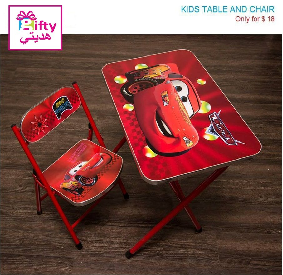 Kids Table & Chair Cars
