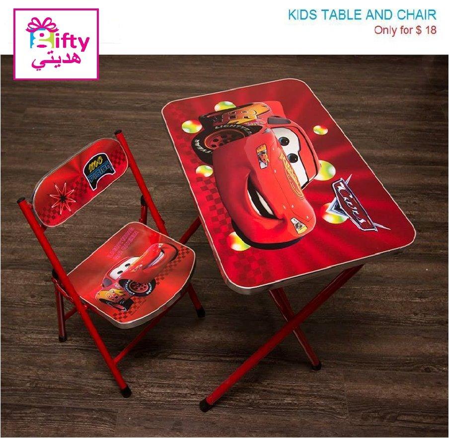 Kids Table & Chair Cars