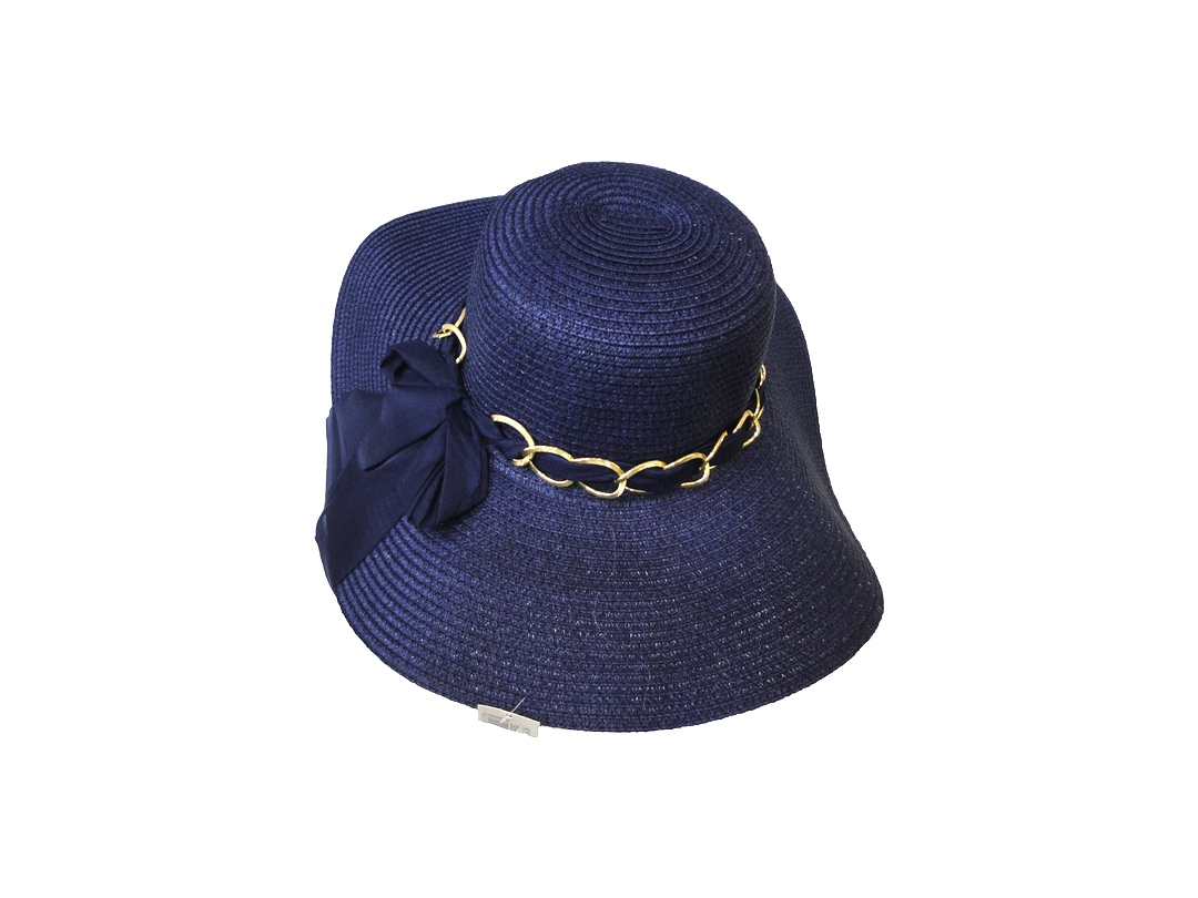 Sea Straw Hat Blue