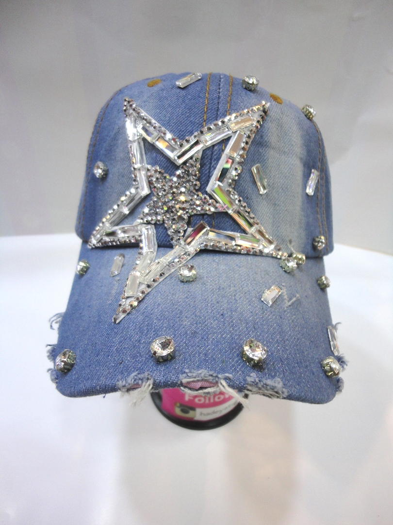 Summer Hat JEANS, Star