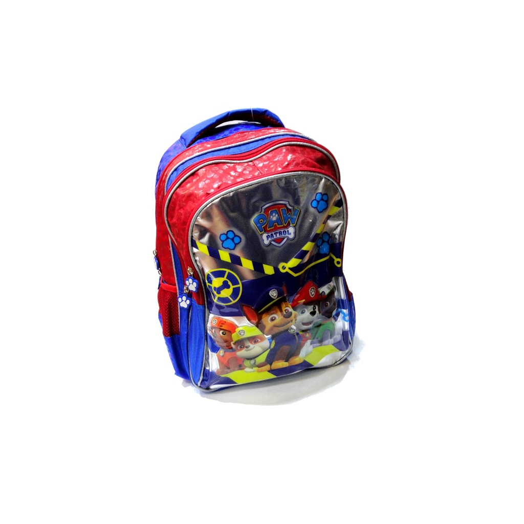 PAW PATROL school bag 3 ZIPPERS