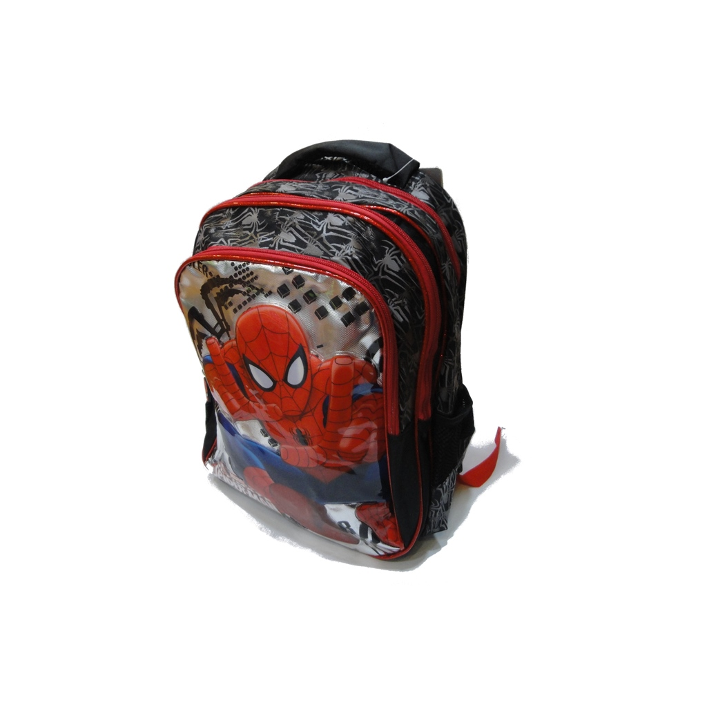 SPIDERMAN school bag 3 ZIPPERS