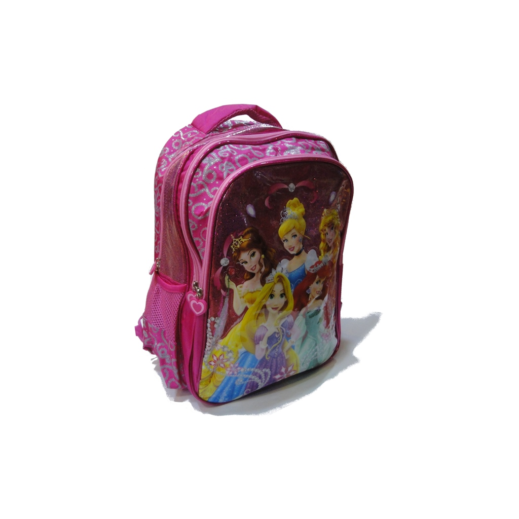 PRINCESS school bag 3 ZIPPERS
