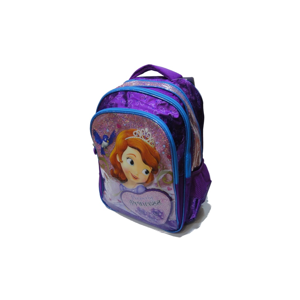 SOFIA school bag 3 ZIPPERS