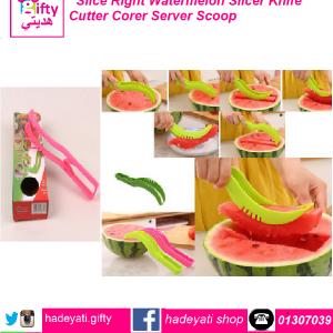 Slice Right Watermelon Slicer Knife Cutter Corer Server Scoop