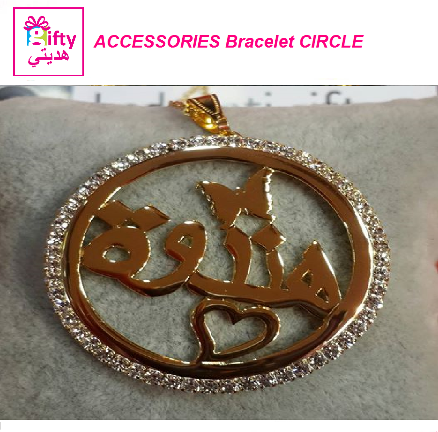 ACCESSORIES NECLACE CIRCLE