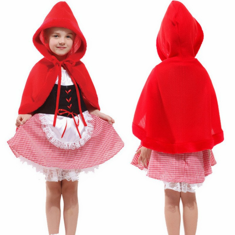 LOVELY LITTLE RED RIDING HOOD Costume KIDS
