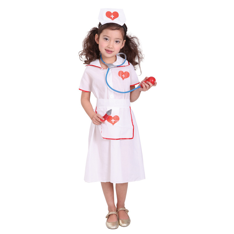 Nurse costume for kids