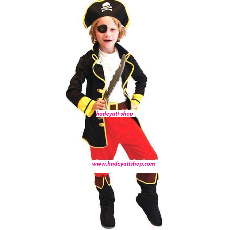PIRATE KING Costume KIDS