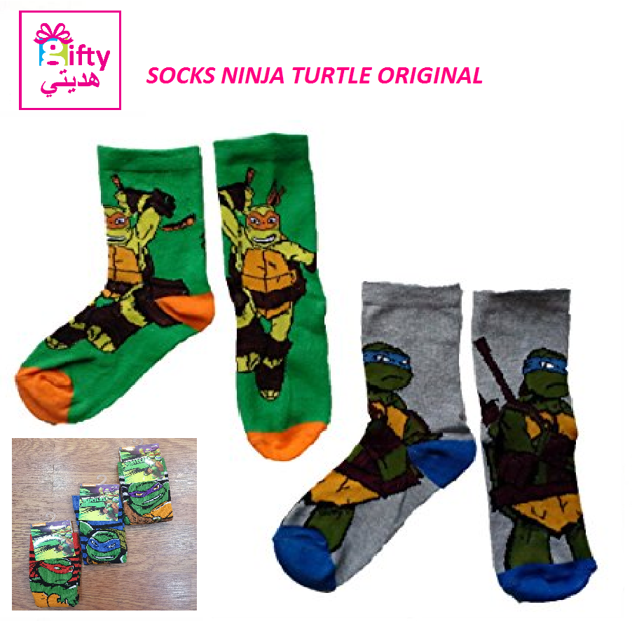 SOCKS NINJA TURTLE