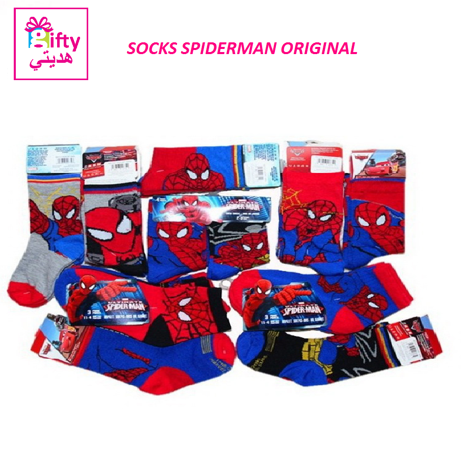 SOCKS SPIDERMAN ORIGINAL