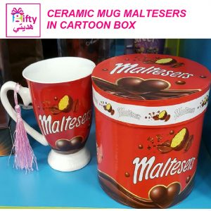 CERAMIC MUG MALTESERS IN CARTOON BOX W