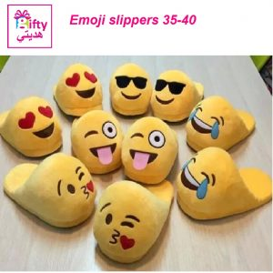 Emoji slippers w