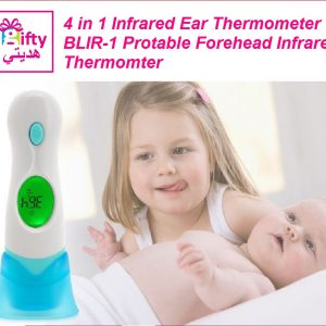 4 in 1 Infrared Ear Thermometer BLIR-1 Protable Forehead Infrared Thermomter W