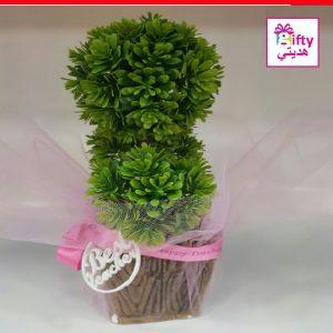 ARTIFICIAL PLANT WITH BEST TEACHER LOGO 1W