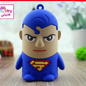 Cartoon SUPERMAN 8800mAh portable charger power bank W