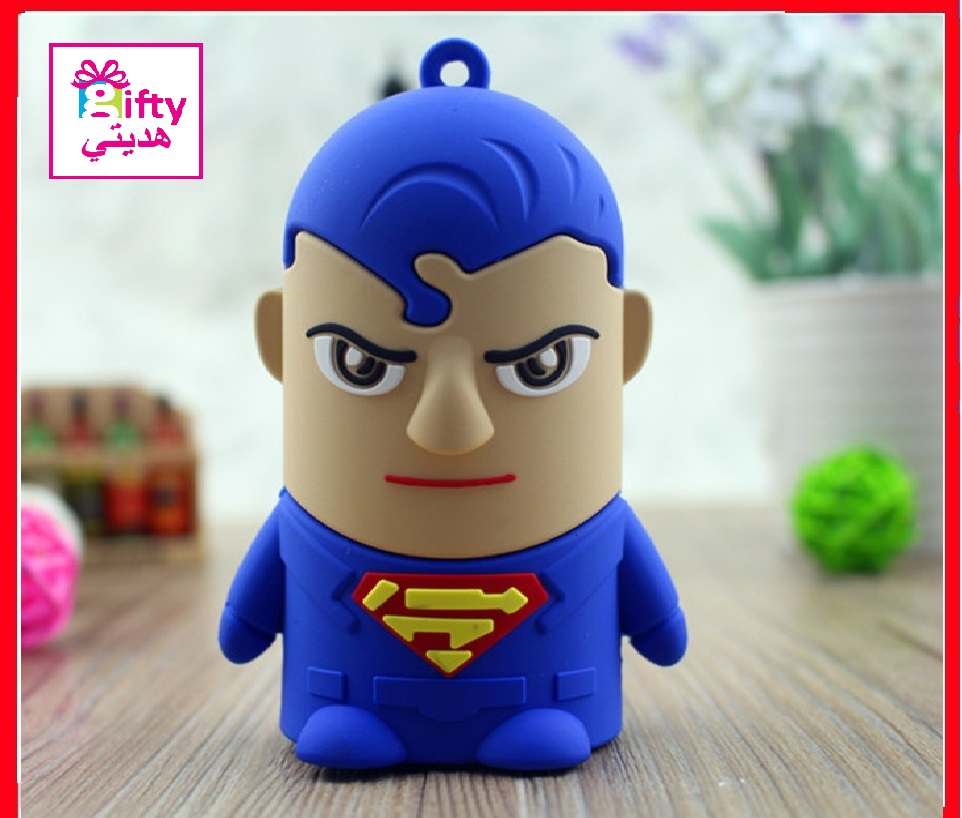 Cartoon SUPERMAN 8800mAh portable charger power bank