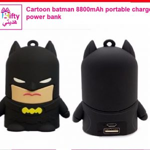 Cartoon batman 8800mAh portable charger power bank w