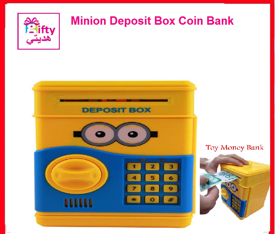 Minion Deposit Box Coin Bank