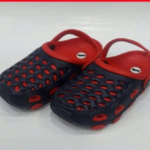 CROCS BLUE & RED 30-34 B