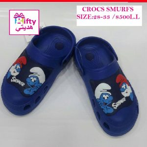 CROCS SMURFS BLUE 28-33 B