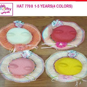 HAT 7708 1-5 YEARS(4 COLORS)f