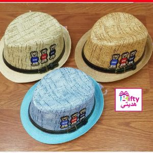 HAT 7740 6-12 YEARS(3 COLORS)W