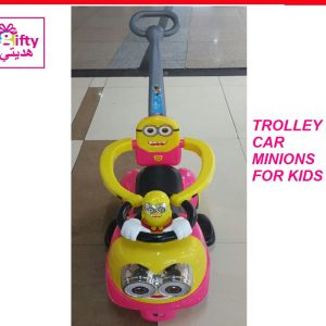 TROLLEY CAR MINIONS FOR KIDS W