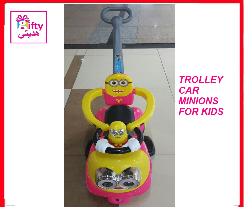 TROLLEY CAR MINIONS FOR KIDS