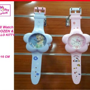 Wall Watch FROZEN & HELLO KITTY W