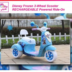 Disney Frozen 3-Wheel Scooter RECHARGEABLE Powered Ride-On W