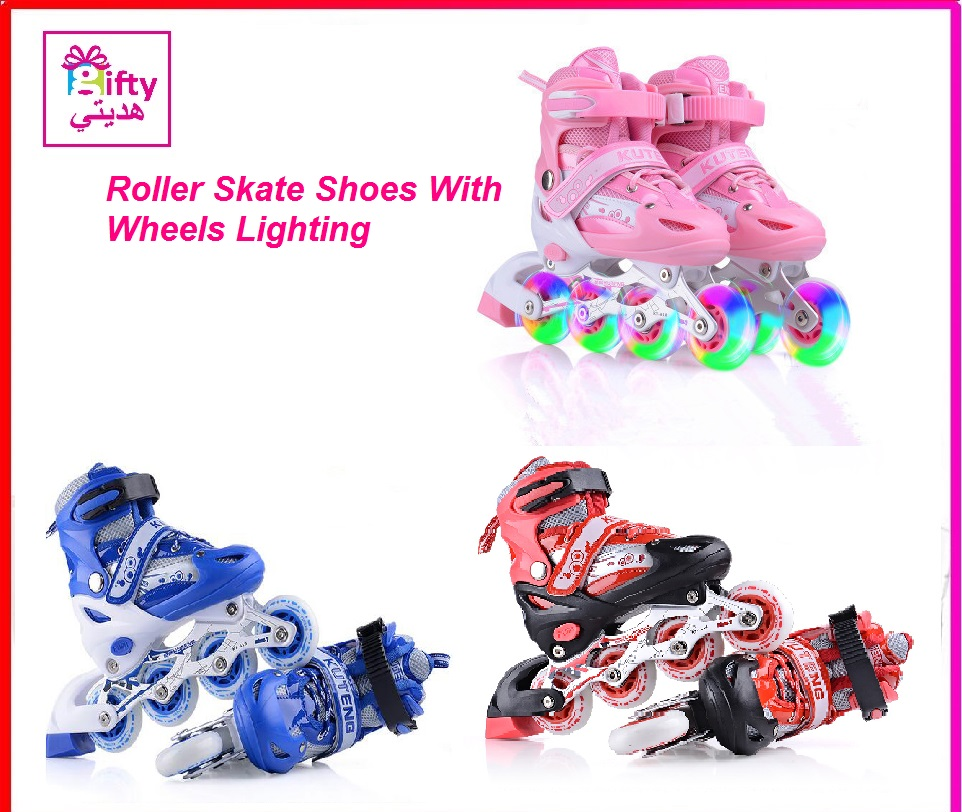 Roller Skate Shoes With Wheels Lighting