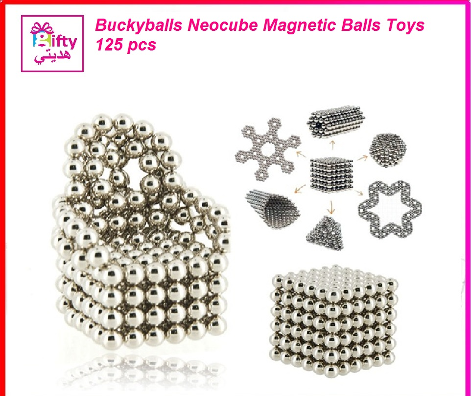 Buckyballs Neocube Magnetic Balls Toys 216 pcs