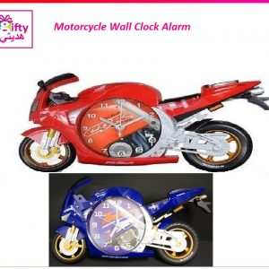 Motorcycle Wall Clock Alarm w