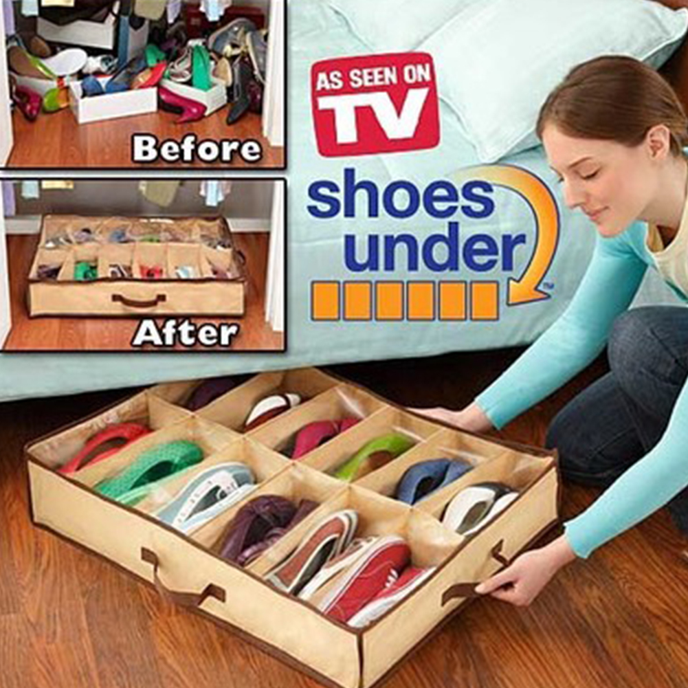 Shoe Under Space Saving Shoe Organizer