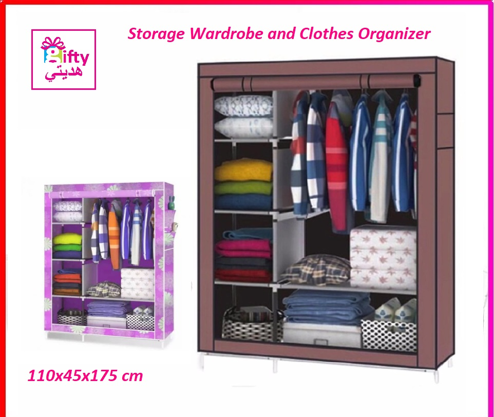Storage Wardrobe and Clothes Organizer