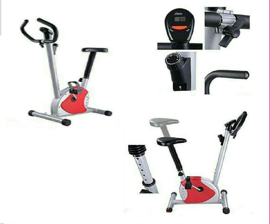 Exercise Bike Fitness Cycling Machine Cardio Aerobic Equipment Workout Gym