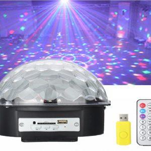 LED Crystal Magic Ball Effect Lamp w
