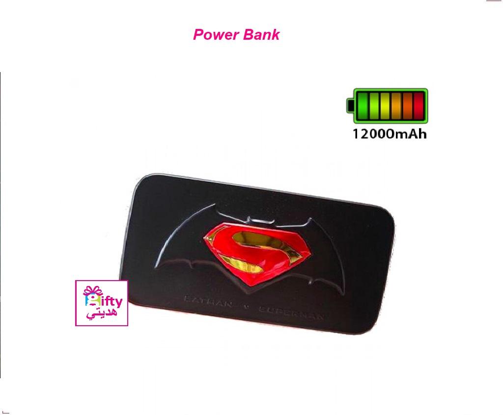 Powerbank Avengers Hero Batman Vs Superman12000Mah