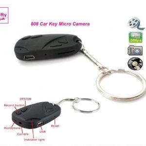 808 Car Key Chain Micro Camera W