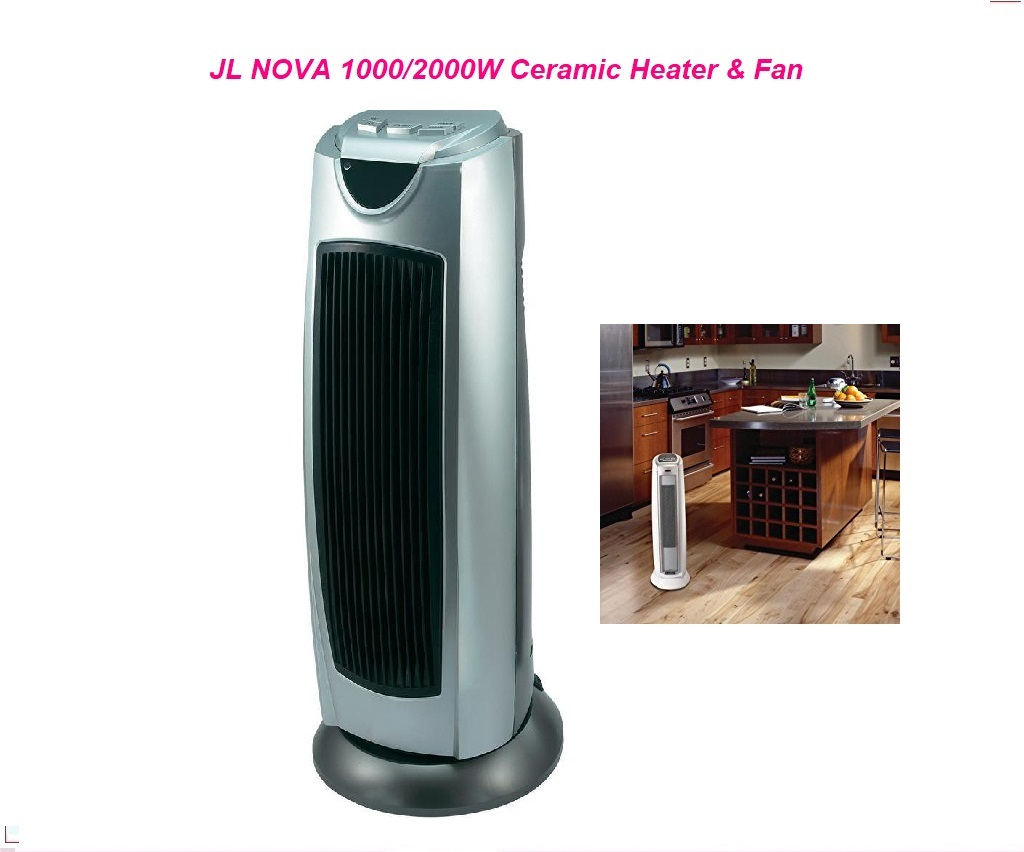JL NOVA KPT-2000 1000/2000W Ceramic Heater & Fan