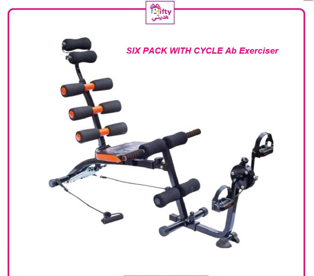 SIX PACK WITH CYCLE Ab Exerciser