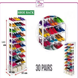 Amazing Shoe Rack 30 Pairs W