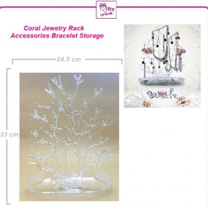 Coral Jewelry Rack Display Accessories Bracelet Storage w