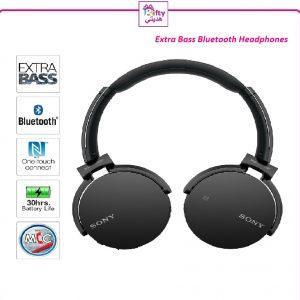 Extra Bass Bluetooth Headphones w