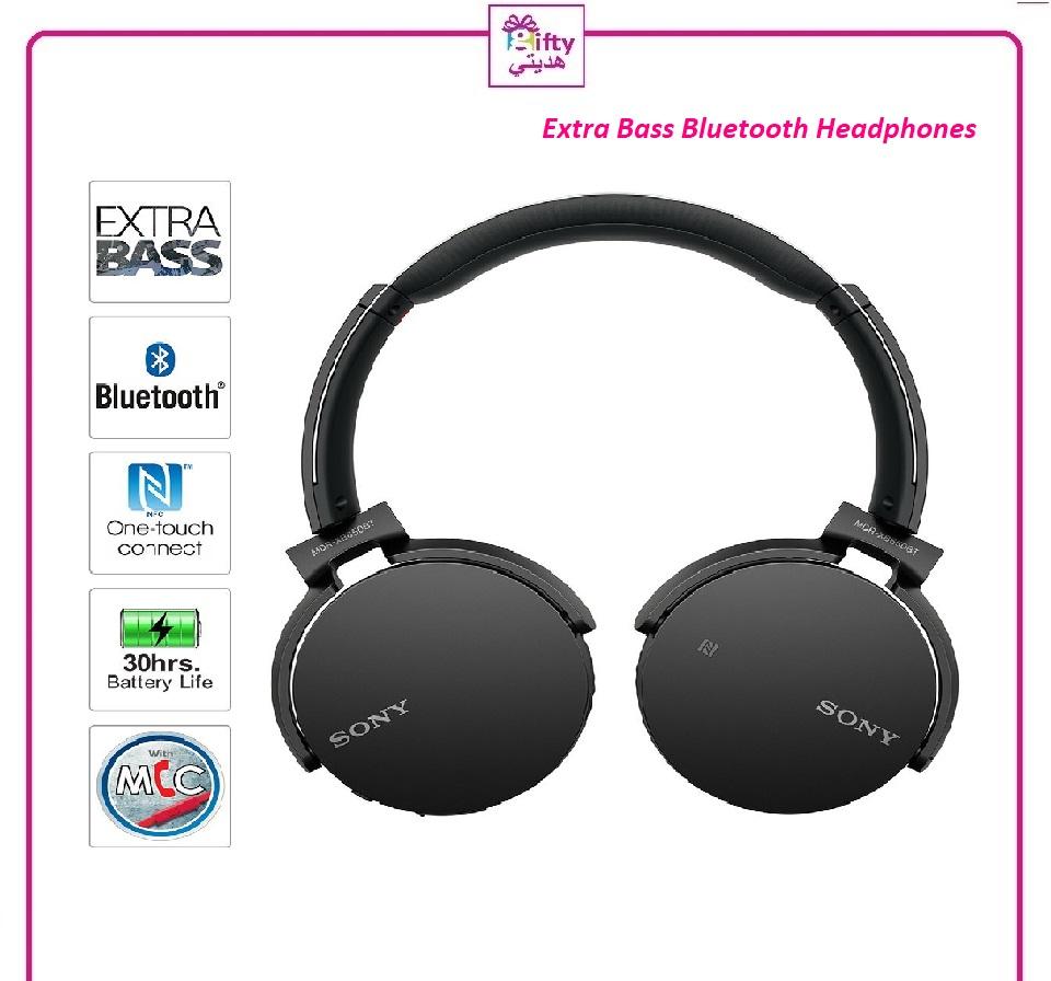 Extra Bass Bluetooth Headphones